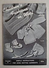 Children's Fashions in Wool